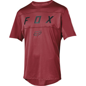 Fox Flexair Moth Bike Jersey Shortsleeve Men red